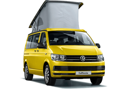 Rent a VW california beach