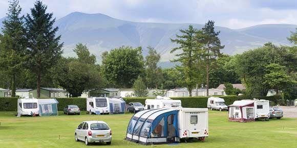 Derwentwater campsite