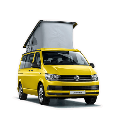 Hire a VW california