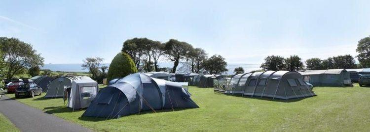 Slapton Sands Camping and Caravanning Club, Devon